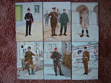 6 Card Set No 20 Military Postcards CORPS OF ROYAL MILITARY POLICE. Mint cond.