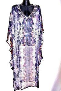 """Kaftans /  100% Viscose / long / """"Huge Sale"""" /  Embellished /   RR$129."""
