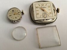Vintage 19j Lady Elgin and 17j Tradition Watch Movements For Parts Only