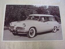 1954 STUDEBAKER CONESTOGA STATION WAGON   11 X 17  PHOTO  PICTURE