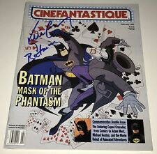 KEVIN CONROY Batman Animated Series Signed MAGAZINE In Person Autograph