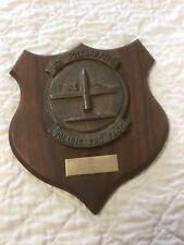 VTG Bronze Naval Plaque on Wood Shield USS Holland AS-32 Submarine Tender Ship