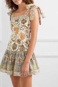<63% Off> Auth ZIMMERMANN Edie Tie Mini Dress $675
