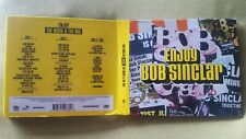 BOB SINCLAR - ENJOY BOB SINCLAIR. 2 CD + DVD DIGIPACK EDITION