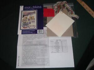 Vtg Southwestern New Mexico Navajo Adobe Munchkins Cross Stitch Kit 5x7 #Ld