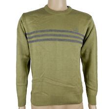 Adidas Chest STR PO: 2 Jersey De Hombre Suéter De Punto Negras Nueva Talla S