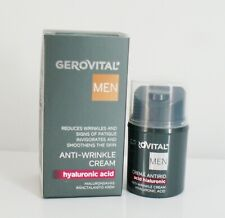 Gerovital men  anti wrinkle cream with HA specifically for men's skin 30 ml