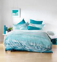 Bianca Tarquin Quilt Cover Set Turquoise
