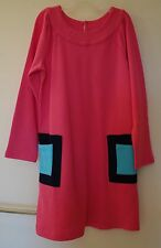 Brand New ~ Hanna Andersson Pink French Terry Dress ~ Girl's 150 / 11-13 year