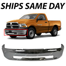 NEW Chrome - Steel Front Bumper for 2009 2010 2011 2012 Dodge RAM 1500 Pickup