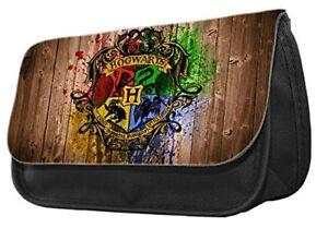 Harry Potter Hogwarts Logo themed Pencil Case-make up case,back to school