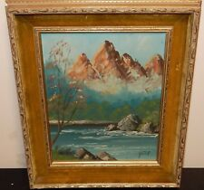 KOSTER SMALL OIL ON BOARD HOLLAND LANDSCAPE PAINTING #2