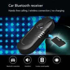 Car Wireless Bluetooth V4.1 USB Audio Music Speaker Receiver Adapter FM Emitter