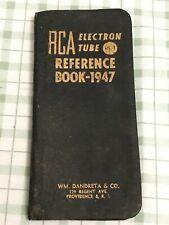 1947 RCA Electron Tube Reference Book USA Vintage