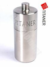 TITANER Titanium Waterproof CR123A 16340 Battery Box Case Container TC4 Ti