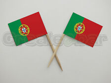 72 Portuguese Flag Picks - Buffet Sandwich Food Party Sticks - Portugal Flags