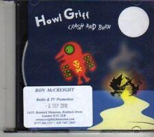 (BF318) Howl Griff, Crash And Burn - 2010 DJ CD