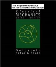 Classical Mechanics by Charles Poole, Herbert Goldstein (Int' Ed Paperback)3 Ed