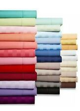 Glorious Bedding Fitted Sheet 1 PC 1200TC Egyptian Cotton UK Sizes All Color