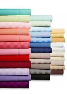 Glorious Bedding Sheets 4 PCs 1200TC Egyptian Cotton UK Sizes All Color