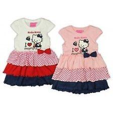 Hello Kitty Kleid Rosa/Wei�Ÿ Partykleid Sommerkleid Abendkleid Mädchen