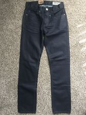 NWT CCS Boys/Man 100% Cotton Black Skinny Jeans size 28-30