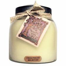 Keepers of the Light Candle - FRESH PEELED McINTOSH APPLE - 34-oz Papa Jar/Tag