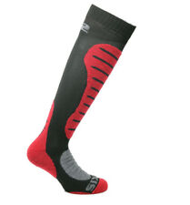 CALZE MOTO TERMICI RINFORZATE SIXS SIX2 MOT2 CARBON MERINOS INVERNO ROSSO 44/47