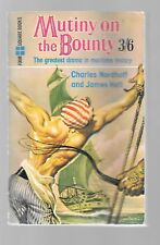 Mutiny On The Bounty Charles Nordhoff & James Hall Four Square 226 UK PB 1960 VG