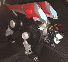 "VOLTRON toy BLACK LION figure (torso for 16"" Legendary Defender robot) sound fx"