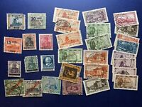 HUGE SAAR GERMANY STAMP COLLECTION INCLUDES RED/BLACK OVERPRINTS