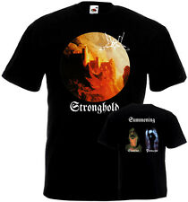 Summoning Stronghold t-shirt double sided BLACK all sizes S-5XL .