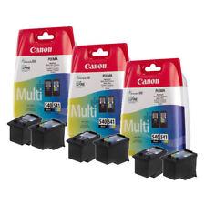 3x Genuine Original Canon PG540 Black CL541 Colour Ink Cartridge PIXMA TS5151