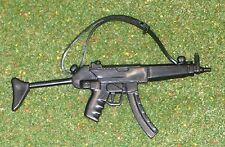 Vintage Action Man 40th loose action SOLDAT SAS Heckler & Koch Sub-Machine Gun