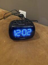Alarm Clock - Fm/Am/Line in Usb Charging, 2 alarms, Large Display