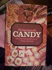 1970 Cookbook FARM JOURNAL's HOMEMADE CANDY, HOW TO MAKE FUDGE DIVINITY #72677