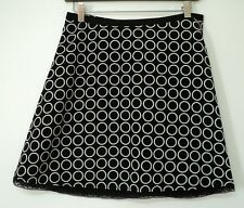 size 0 The Limited SKIRT black circles