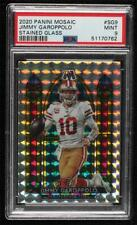 2020 Panini Mosaic Stained Glass Prizm Jimmy Garoppolo #Sg9 Psa 9 Mint