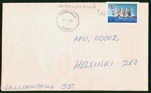 MayfairStamps Finland 1971 Vammala to Helsinki Cover wwo60845