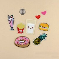 New Embroidered Iron On/ Sew On PATCH Lot Craft DIY Badge Bag Fabric #1 Combo