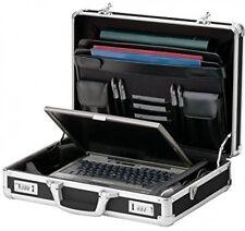 Vaultz Locking Laptop Case, Black (VZ01216) Holder Travel Computer Bag Briefcase