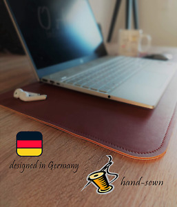 Office Desk Mat Pad Stitched Waterproof Non-Slip Desk Protector Thick Pu Leather