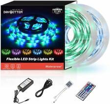 Flexible 32.8ft 10m LED Strip Lights Waterproof 12V 3528 for Room Kitchen Party