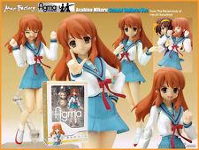 涼宮春日的憂鬱 朝比奈 Haruhi Suzumiya Max Factory Figma 006 Asahina Mikuru School Uniform