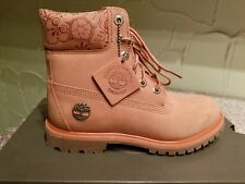 """TIMBERLAND WOMEN'S EMBOSSED 6 INCH"""" DOUBLE SOLE PREMIUM WATERPROOF BOOTS SIZE5.5"""
