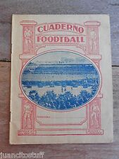 UNIQUE 1928 FOOTBALL STUDENT NOTEBOOK Full used AMSTERDAM OLYMPIC GAMES SCENE