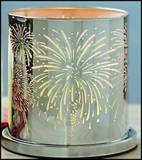 """PartyLite Enchanted """"Celebrations"""" Silver Candle Holder, Nib"""