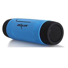 Outdoors Sports Bluetooth Speaker LED Flashlight 4000mAh Power Bank Music Player