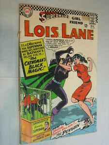 Lois Lane #70 FA CFO 1st silver age Catwoman