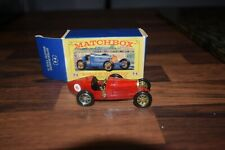 MATCHBOX MODELS OF YESTERYEAR Y6 supercharged bugatti type 35 MINT shop stock